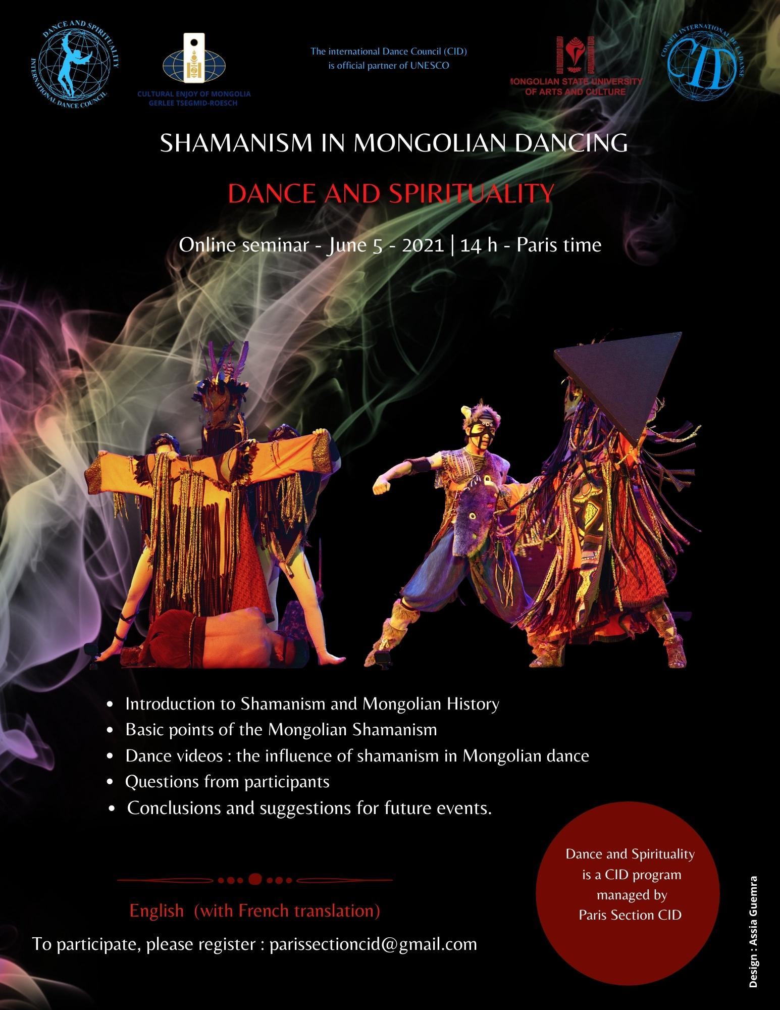 «SHAMANISM IN MONGOLIAN DANCING»